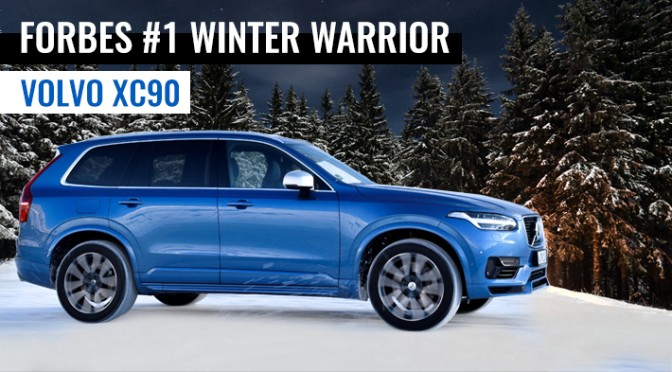Volvo XC90, #1 Winter Warrior, Volvo XC60 #2
